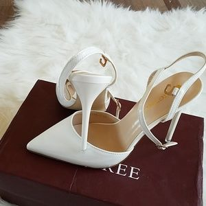 Shoes - White high heel shoes size 6/36, new